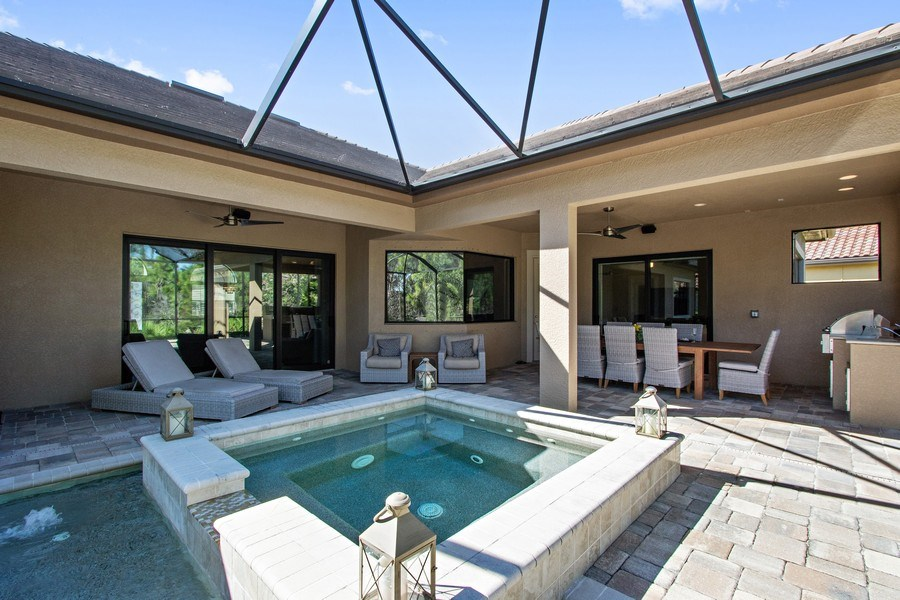 Real Estate Photography - 6751 Mossy Glen Drive, Ft. Myers, FL, 33908 - Rear View