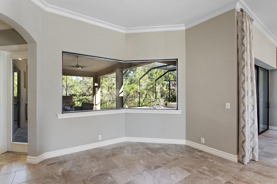 Real Estate Photography - 6751 Mossy Glen Drive, Ft. Myers, FL, 33908 - Breakfast Nook