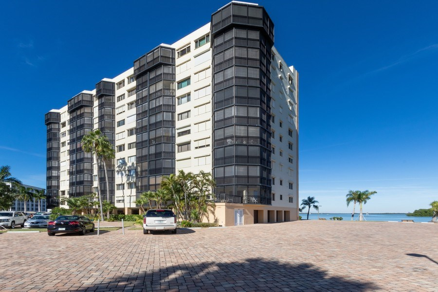 Real Estate Photography - 4263 Bay Beach Ln, #613, Fort Myers Beach, FL, 33931 - Front View