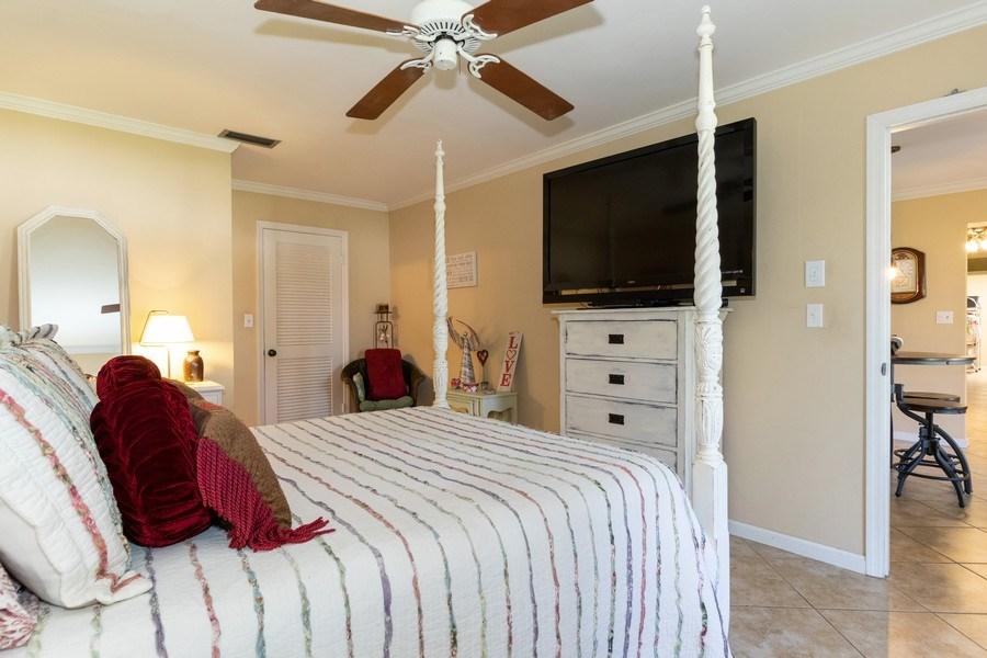 Real Estate Photography - 1518 Whiskey Creek Drive, Fort Myers, FL, 33919 - Master Bedroom