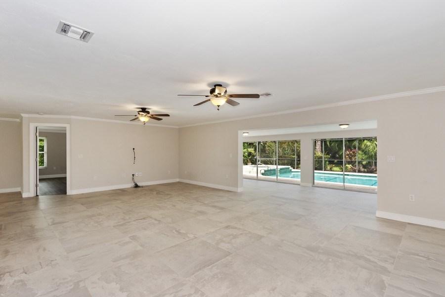 Real Estate Photography - 13502 Brynwood Lane, Ft. Myers, FL, 33912 - Family Room