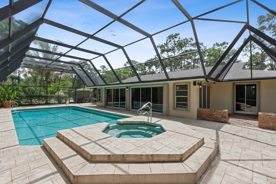 Real Estate Photography - 13502 Brynwood Lane, Ft. Myers, FL, 33912 - Rear View