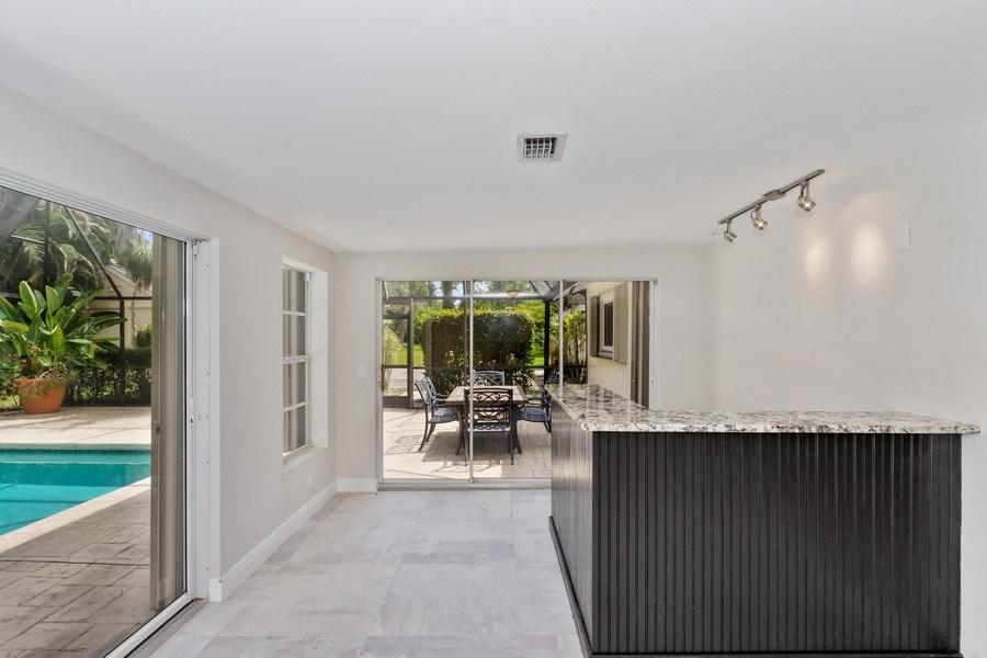 Real Estate Photography - 13502 Brynwood Lane, Ft. Myers, FL, 33912 - Bar