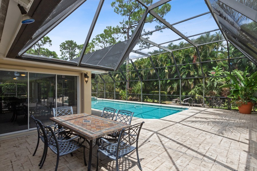 Real Estate Photography - 13502 Brynwood Lane, Ft. Myers, FL, 33912 - Patio