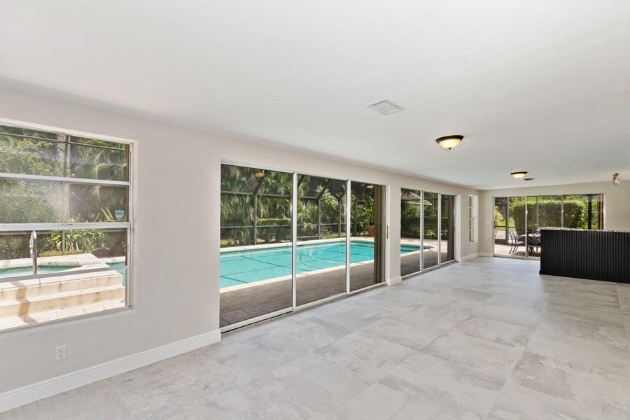 Real Estate Photography - 13502 Brynwood Lane, Ft. Myers, FL, 33912 - Sun Room