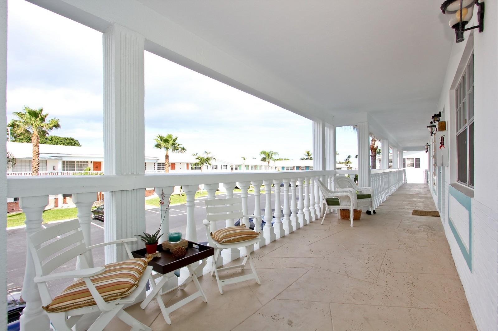 Real Estate Photography - 5505 N Ocean Blvd, 4-203, Ocean Ridge, FL, 33435 - Entryway