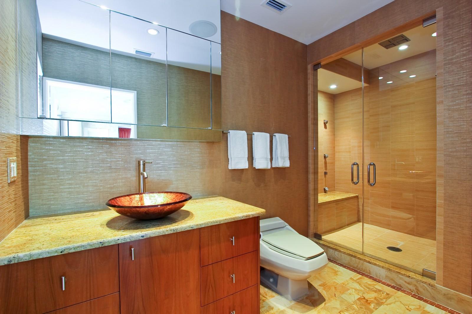 Real Estate Photography - 301 Garden Rd, Palm Beach, FL, 33480 - Master Bathroom