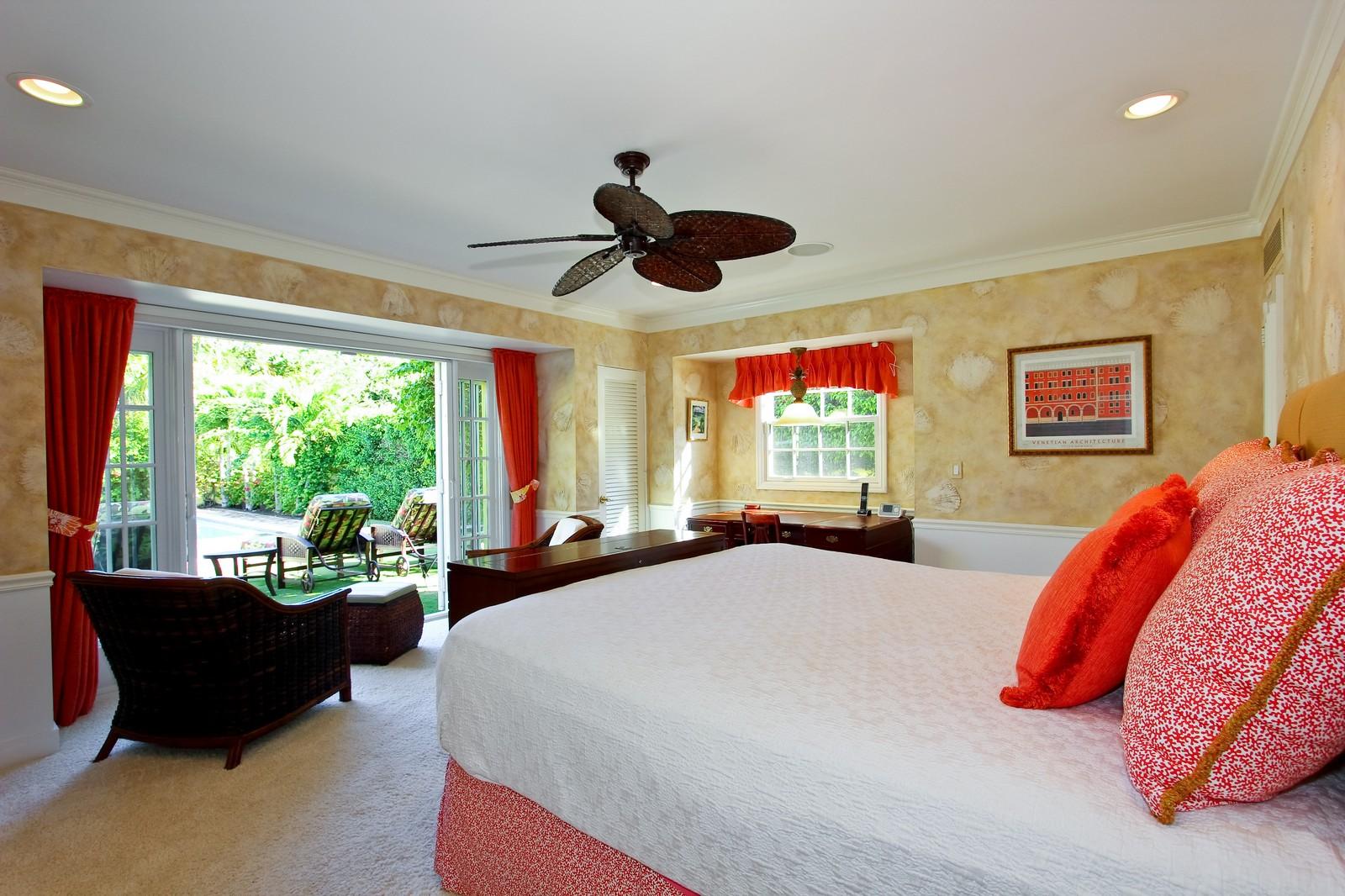 Real Estate Photography - 301 Garden Rd, Palm Beach, FL, 33480 - Master Bedroom