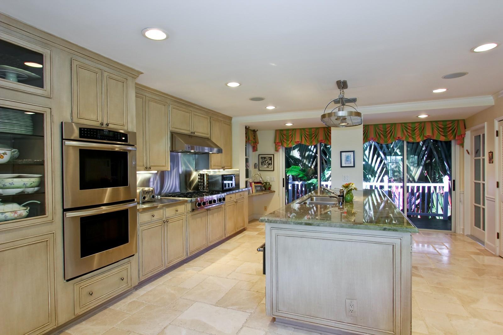 Real Estate Photography - 301 Garden Rd, Palm Beach, FL, 33480 - Kitchen