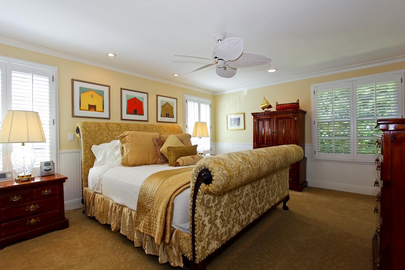 Real Estate Photography - 301 Garden Rd, Palm Beach, FL, 33480 - Bedroom