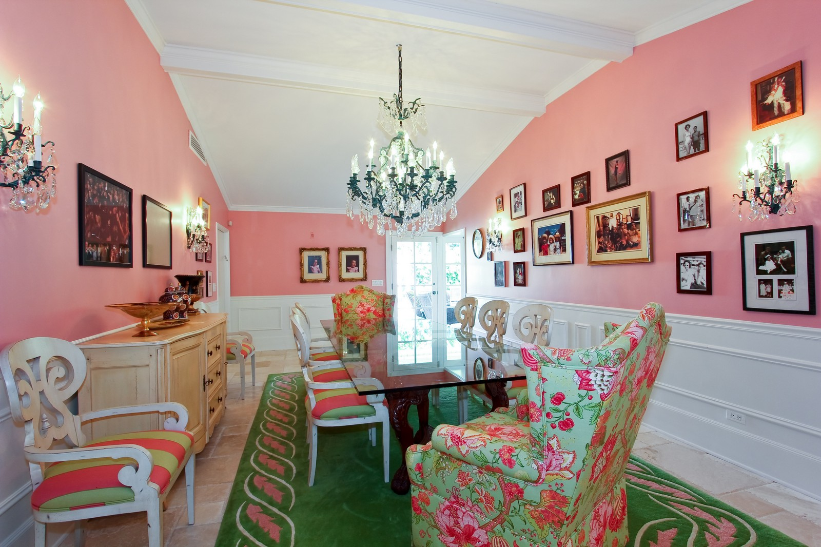 Real Estate Photography - 301 Garden Rd, Palm Beach, FL, 33480 - Dining Room