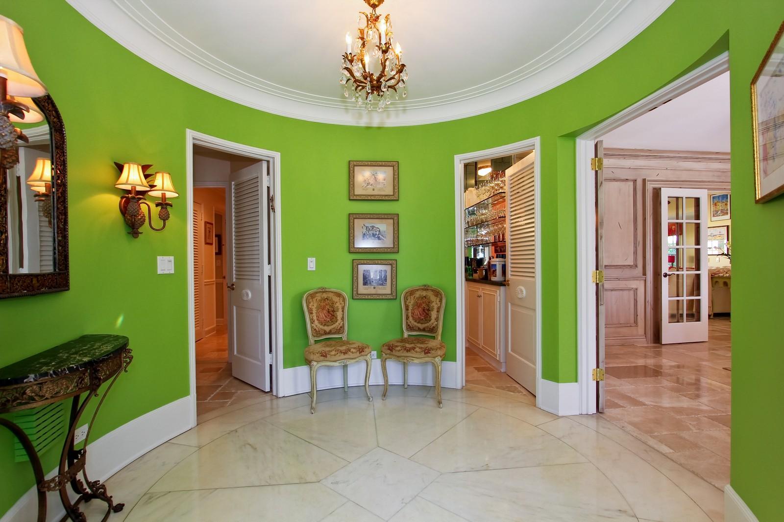 Real Estate Photography - 301 Garden Rd, Palm Beach, FL, 33480 - Foyer