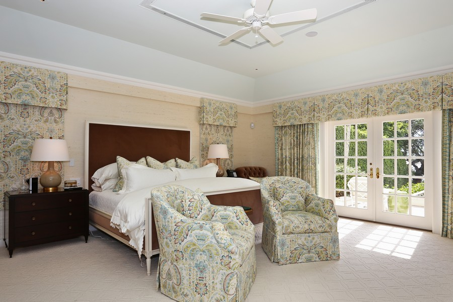 Real Estate Photography - 326 Via Linda, Palm Beach, FL, 33480 - Master Bedroom