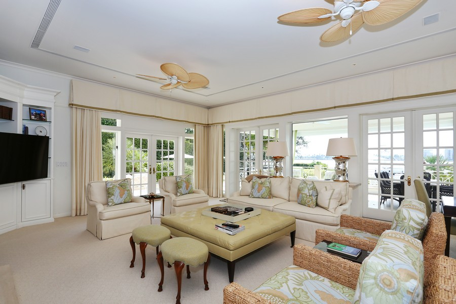 Real Estate Photography - 326 Via Linda, Palm Beach, FL, 33480 - Sun Room