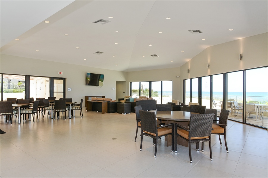Real Estate Photography - 5540 N. Ocean Drive, 3D, Riviera Beach, FL, 33404 - Recreational Area