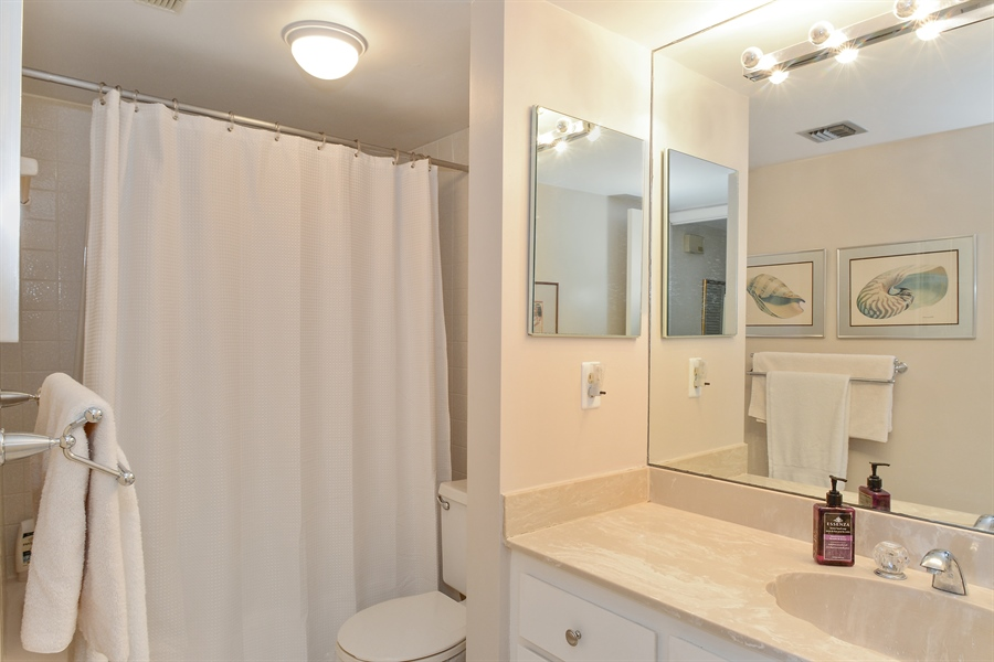 Real Estate Photography - 5540 N. Ocean Drive, 3D, Riviera Beach, FL, 33404 - 2nd Bathroom