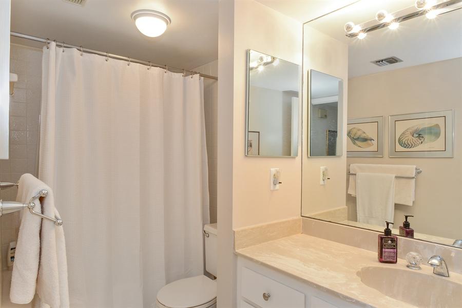 Real Estate Photography - 5540 N. Ocean Drive, 3D, Riviera Beach, FL, 33404 - 2nd Bathroom