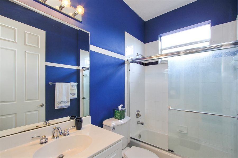 Real Estate Photography - 123 Barcelona Dr, Jupiter, FL, 33458 - 3rd Bathroom