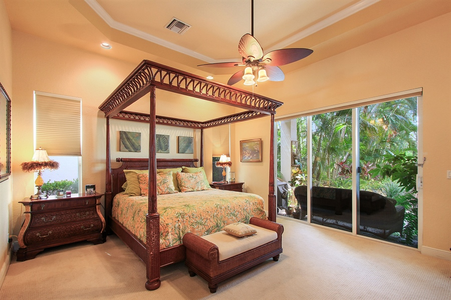 Real Estate Photography - 123 Barcelona Dr, Jupiter, FL, 33458 - Master Bedroom
