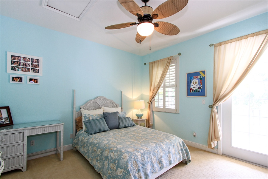 Real Estate Photography - 123 Barcelona Dr, Jupiter, FL, 33458 - 2nd Bedroom