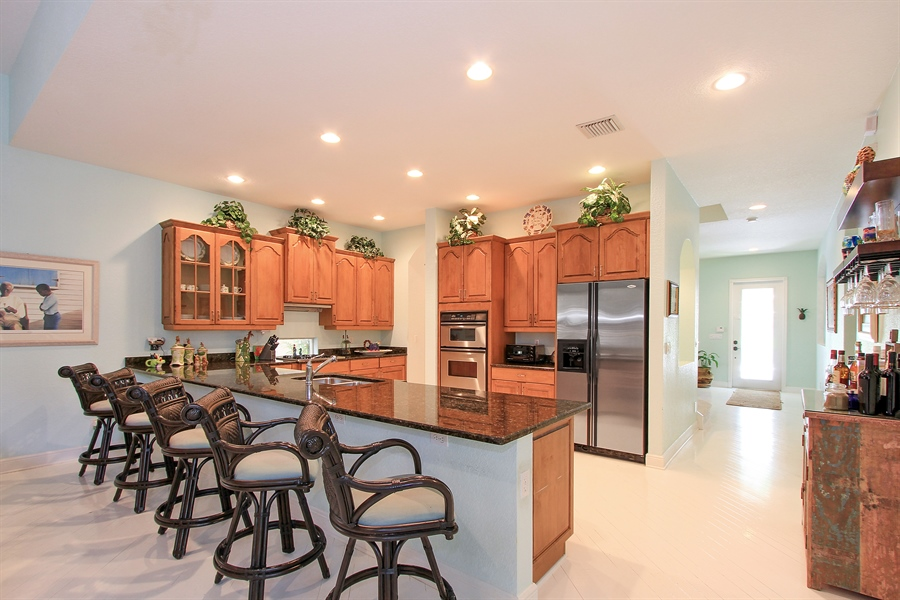 Real Estate Photography - 123 Barcelona Dr, Jupiter, FL, 33458 - Kitchen