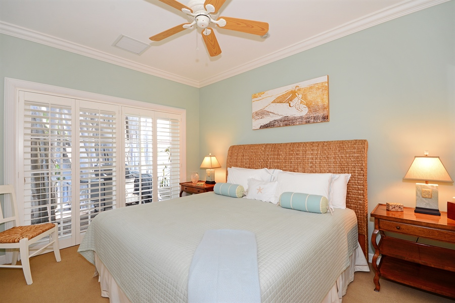Real Estate Photography - 400 Caribbean, Palm Beach, FL, 33480 - 3rd Bedroom