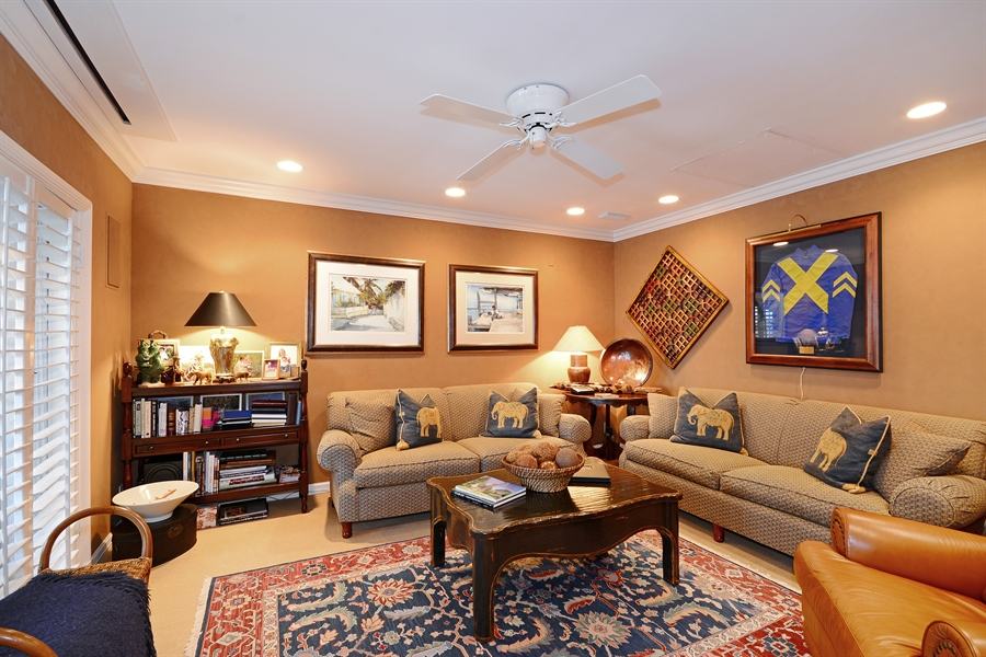 Real Estate Photography - 400 Caribbean, Palm Beach, FL, 33480 - Great Room