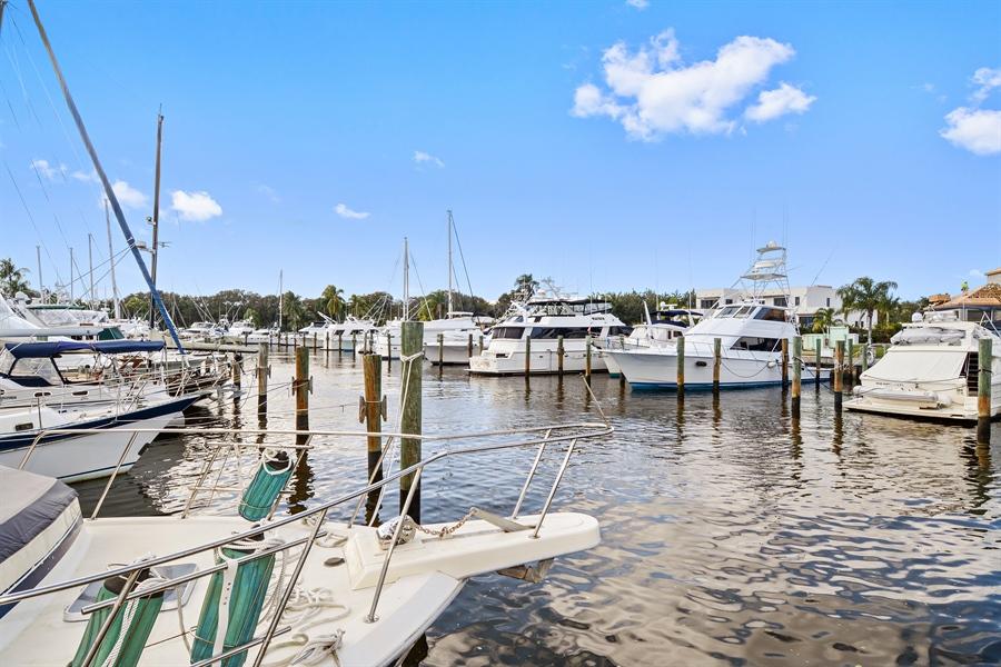 Real Estate Photography - 14490 Cypress Island Cir, Palm Beach Gardens, FL, 33410 - Canal View