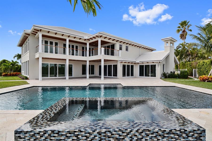 Real Estate Photography - 14490 Cypress Island Cir, Palm Beach Gardens, FL, 33410 - Back Yard
