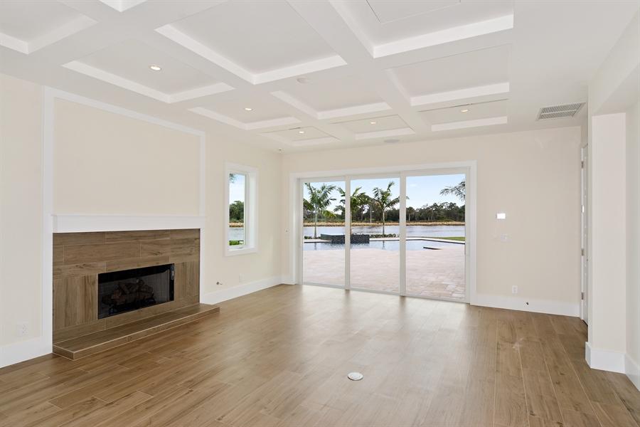 Real Estate Photography - 14490 Cypress Island Cir, Palm Beach Gardens, FL, 33410 - Den