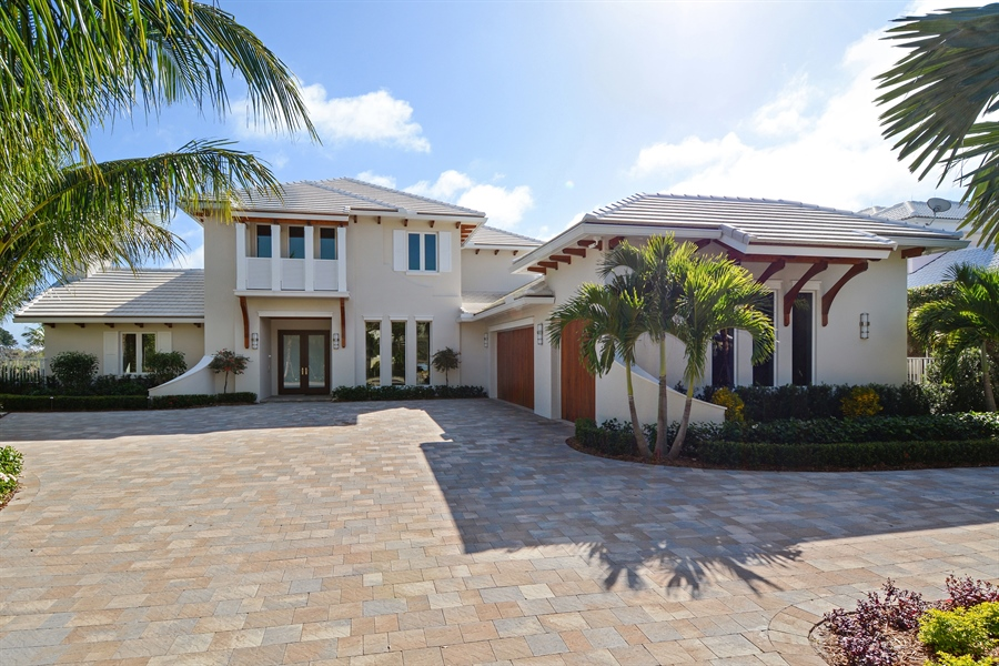 Real Estate Photography - 14490 Cypress Island Cir, Palm Beach Gardens, FL, 33410 - Front View