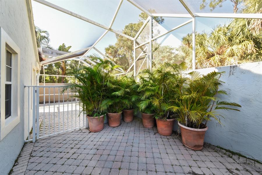 Real Estate Photography - 9111 Baybury Ln,, West Palm Beach, FL, 33411 - Terrace
