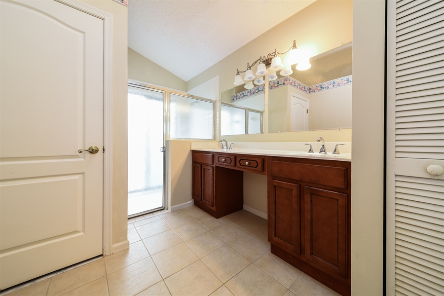 Real Estate Photography - 9111 Baybury Ln,, West Palm Beach, FL, 33411 - Master Bathroom