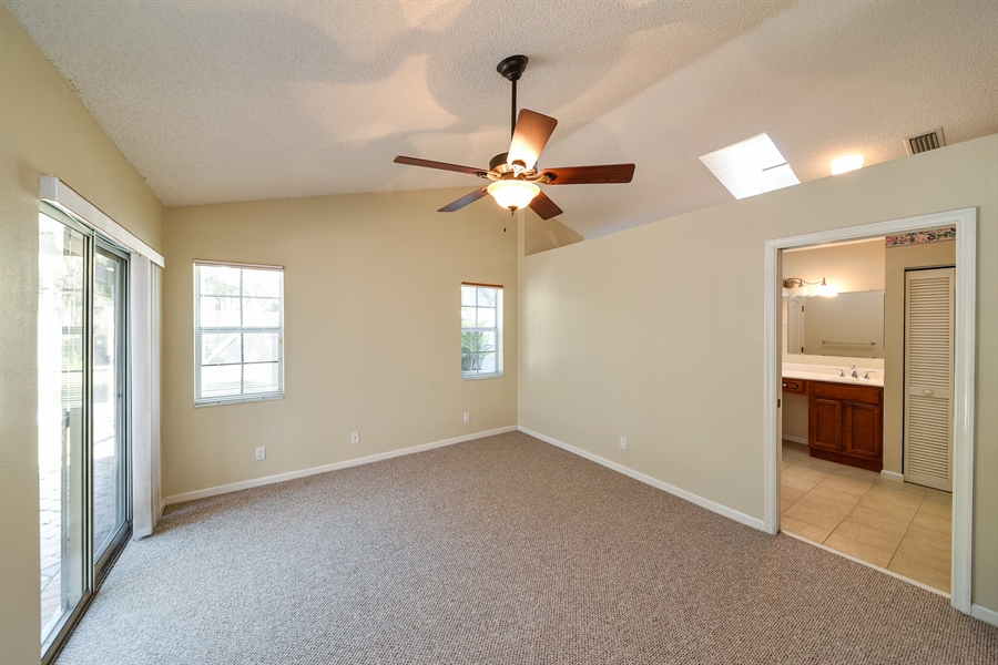 Real Estate Photography - 9111 Baybury Ln,, West Palm Beach, FL, 33411 - Master Bedroom