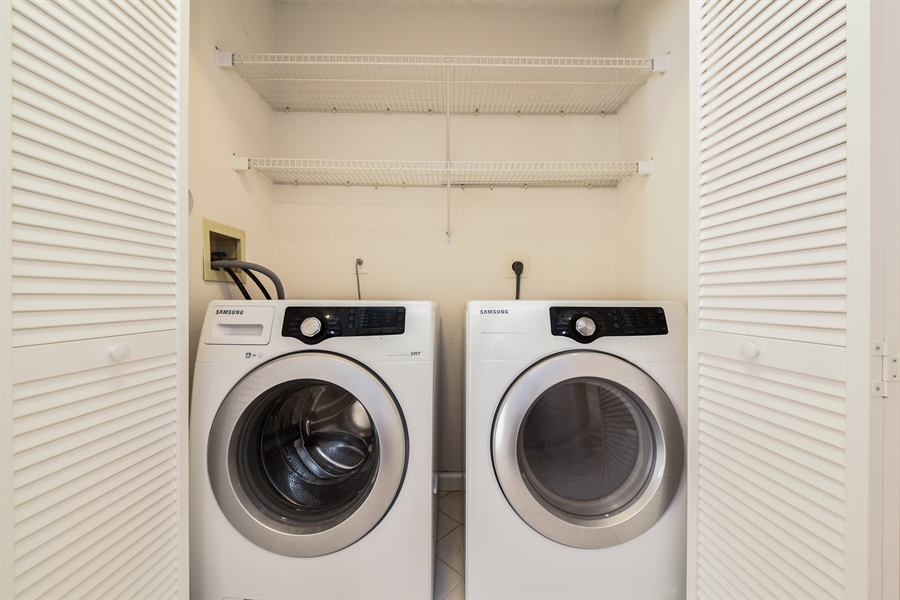 Real Estate Photography - 9111 Baybury Ln,, West Palm Beach, FL, 33411 - Laundry Room