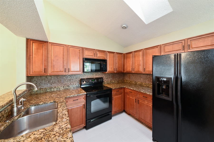 Real Estate Photography - 9111 Baybury Ln,, West Palm Beach, FL, 33411 - Kitchen