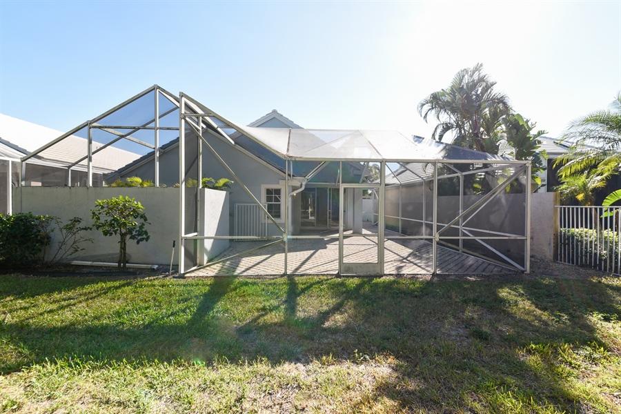 Real Estate Photography - 9111 Baybury Ln,, West Palm Beach, FL, 33411 - Rear View