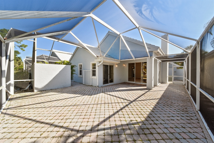 Real Estate Photography - 9111 Baybury Ln,, West Palm Beach, FL, 33411 - Patio