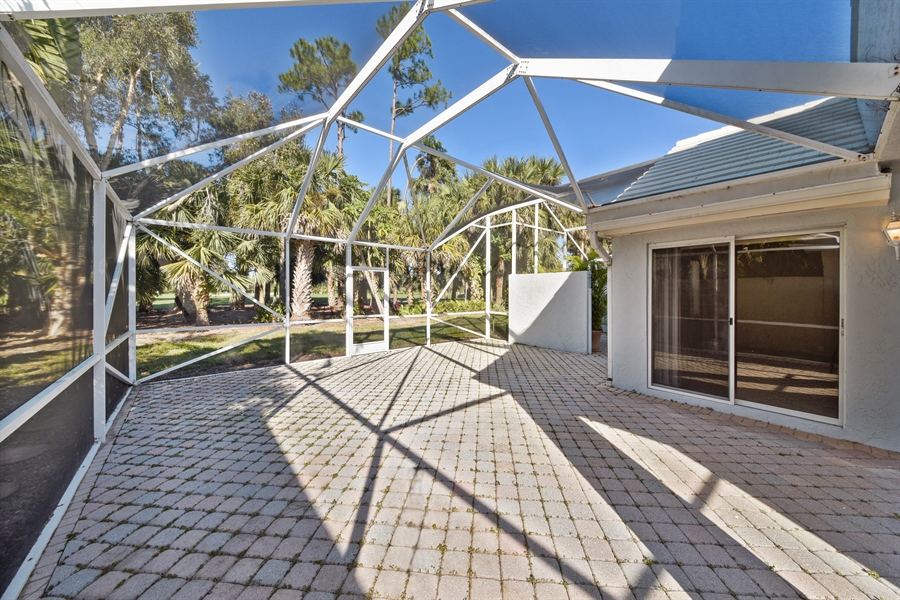 Real Estate Photography - 9111 Baybury Ln,, West Palm Beach, FL, 33411 - Patio