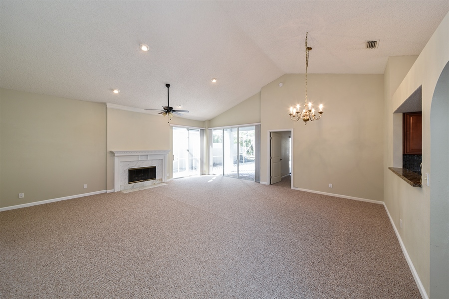 Real Estate Photography - 9111 Baybury Ln,, West Palm Beach, FL, 33411 - Living Room / Dining Room