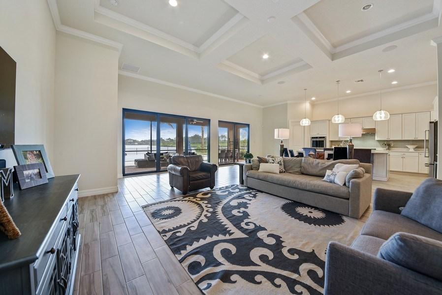 Real Estate Photography - 206 Alcove point lane, Jupiter, FL, 33478 - Living Room