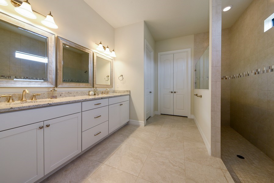Real Estate Photography - 206 Alcove point lane, Jupiter, FL, 33478 - Master Bathroom