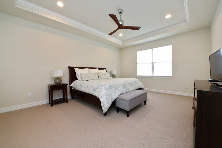 Real Estate Photography - 206 Alcove point lane, Jupiter, FL, 33478 - Master Bedroom