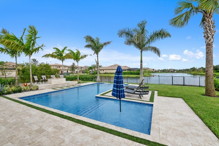 Real Estate Photography - 206 Alcove point lane, Jupiter, FL, 33478 - Pool