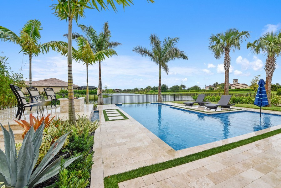 Real Estate Photography - 206 Alcove point lane, Jupiter, FL, 33478 - Pool