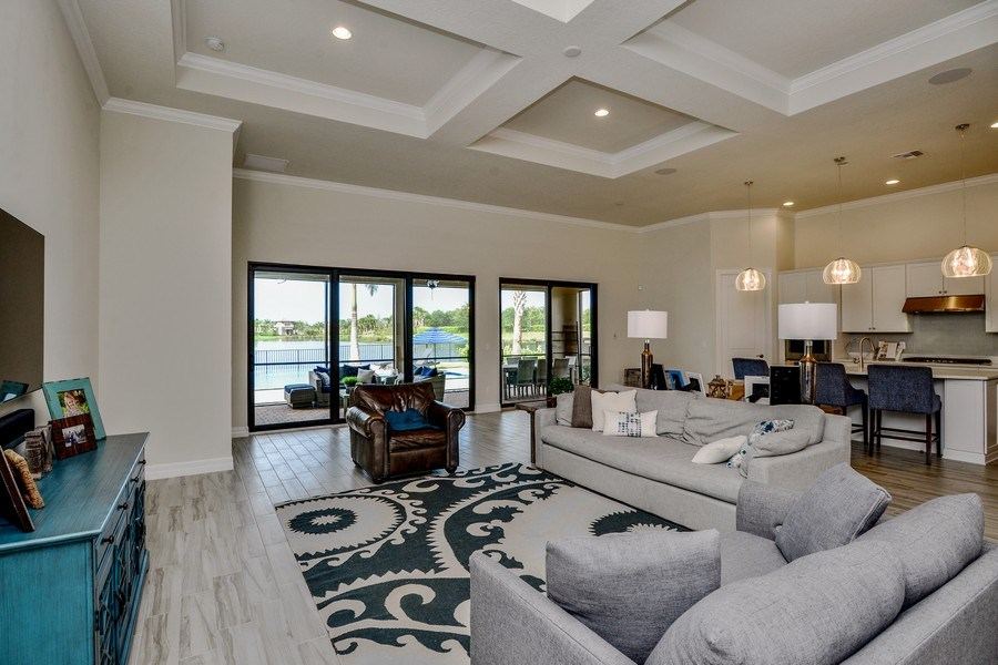 Real Estate Photography - 206 Alcove point lane, Jupiter, FL, 33478 - Family Room