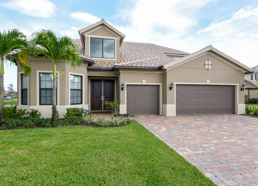 Real Estate Photography - 206 Alcove point lane, Jupiter, FL, 33478 - Front View