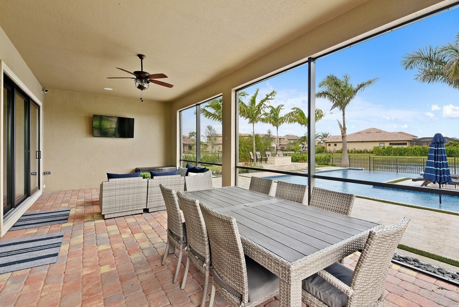 Real Estate Photography - 206 Alcove point lane, Jupiter, FL, 33478 - Patio