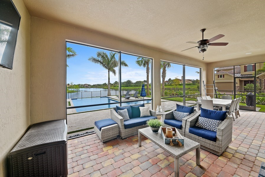 Real Estate Photography - 206 Alcove point lane, Jupiter, FL, 33478 - Patio