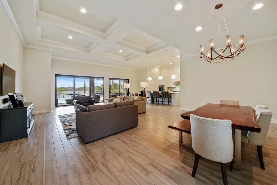 Real Estate Photography - 206 Alcove point lane, Jupiter, FL, 33478 - Living Room / Dining Room